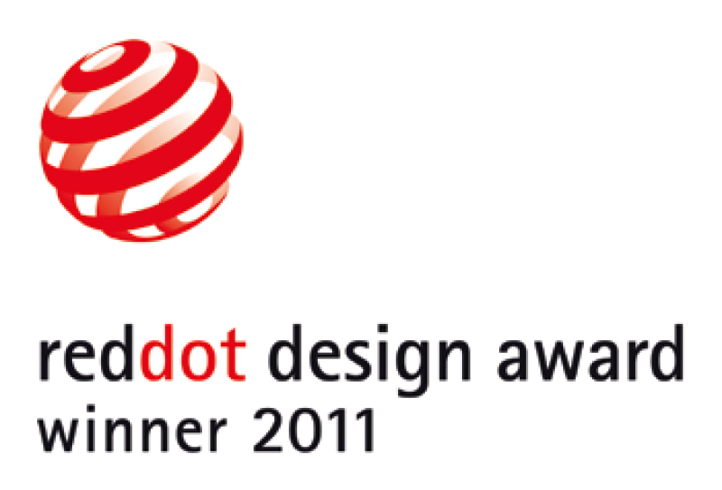 reddot design award winner 2011